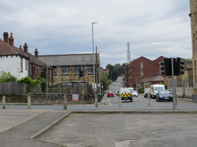 At one time Broad Lane used to cross Swinnow Road at this point - but no more