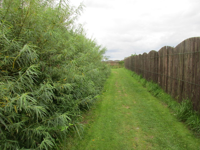 Bridleway at Double Gates