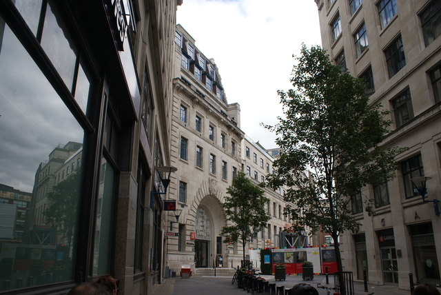 View of London School of Economics from Houghton Street
