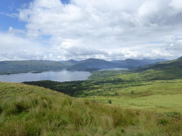 View towards Milarrochy, Loch Lomond