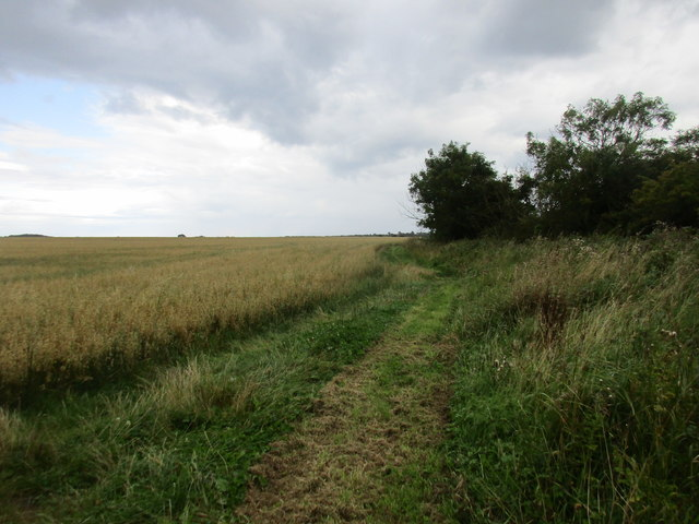 Footpath to Bewholme Lane and Atwick