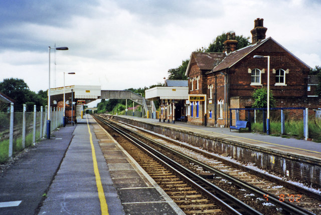 Lenham station, 2002