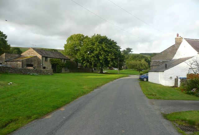 The village green, Newby