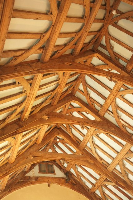 Roof, Lytes Cary