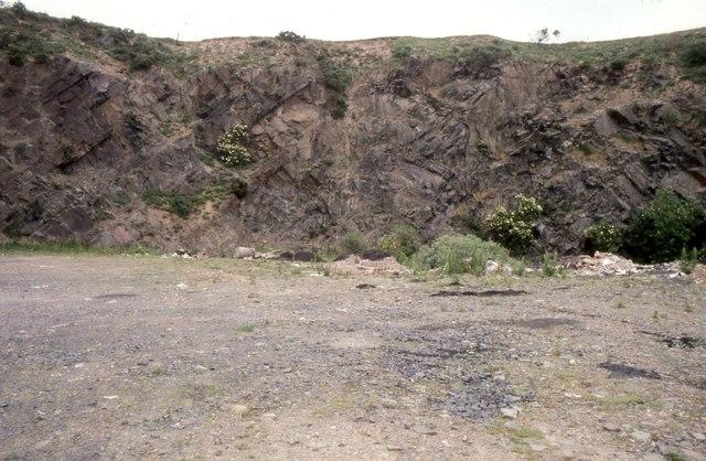 Disused quarry, Grantshouse