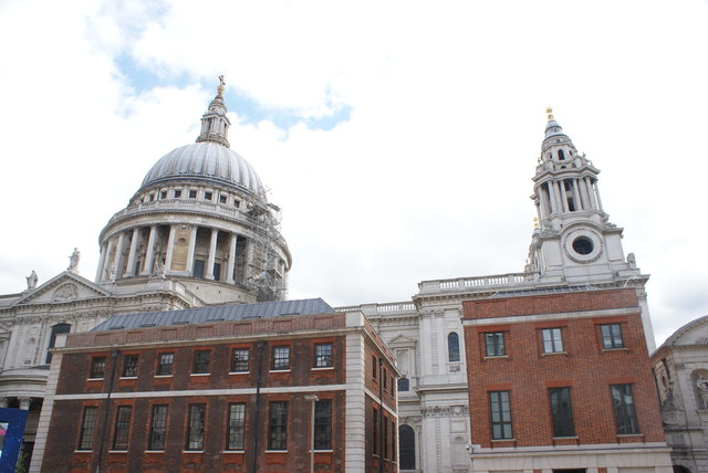 View of St. Paul's Cathedral from Paternoster Square #7