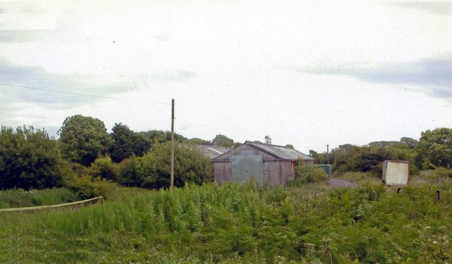 Site of Letterston station, 2004