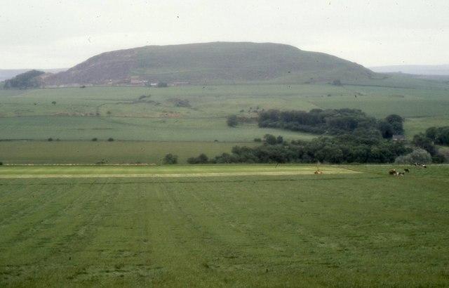 Fields beside the (old) A1