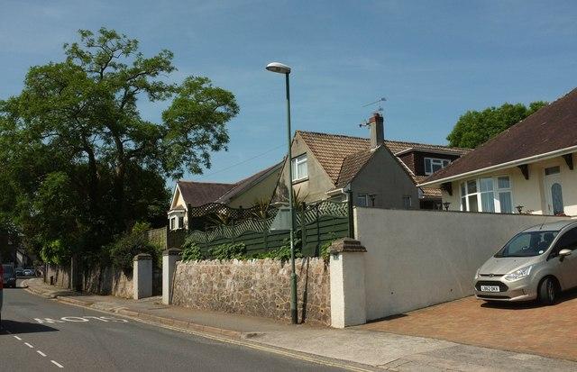 Houses on Cadewell Lane, Shiphay