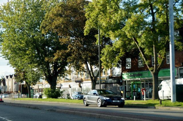Shops on Kingston Road, Ewell