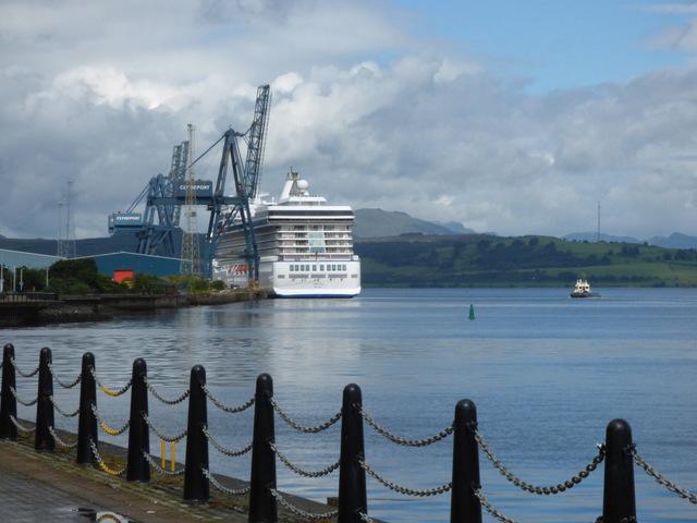 Cruise Ship Marina at Greenock