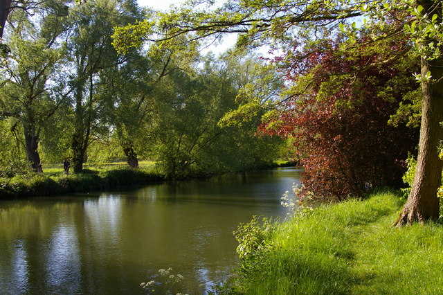 River Cherwell by the University Parks, Oxford