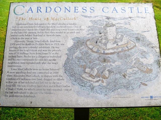 Cardoness Castle [3]