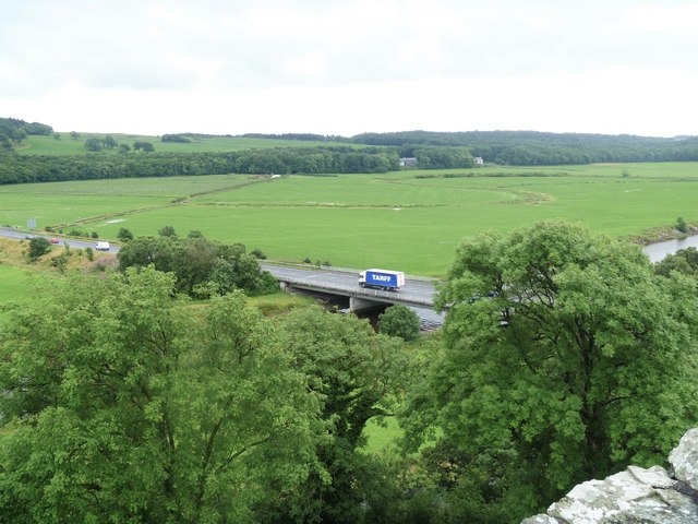 The view from Cardoness Castle [1]