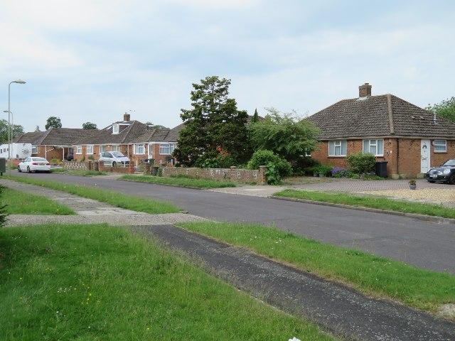 Houses along Shipton Way