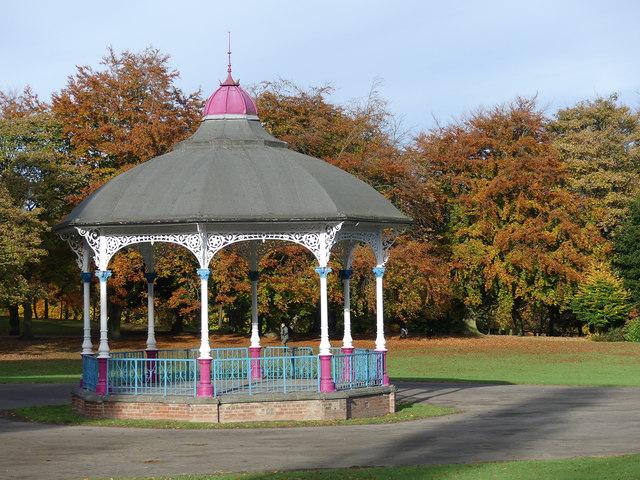 Bandstand Locke Park