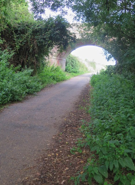 Cycle route between Horringford and Merstone, Isle of Wight