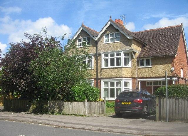 Houses in Cliddesden Road