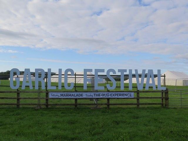 Garlic Festival, Isle of Wight