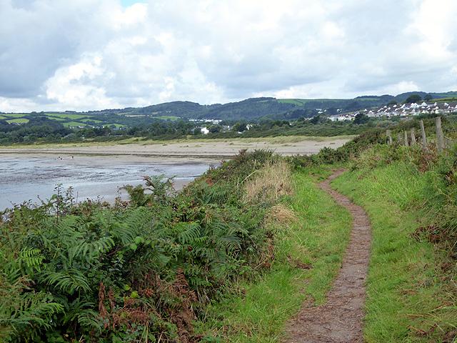 The South West Coastal Path by Trill Farm
