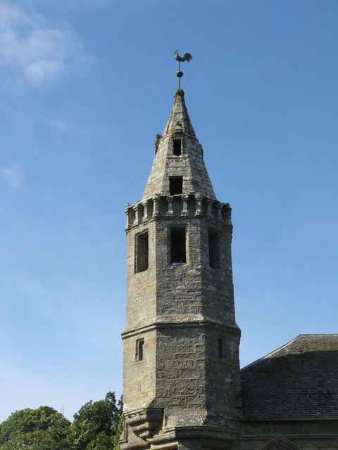 Dairsie Church tower
