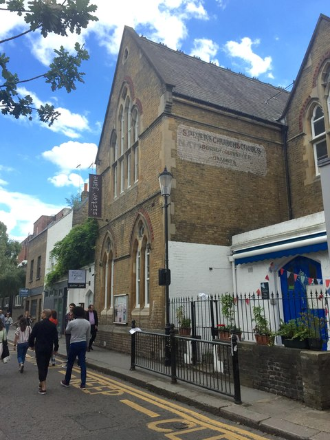 St.Peter's Hall, Portobello Road