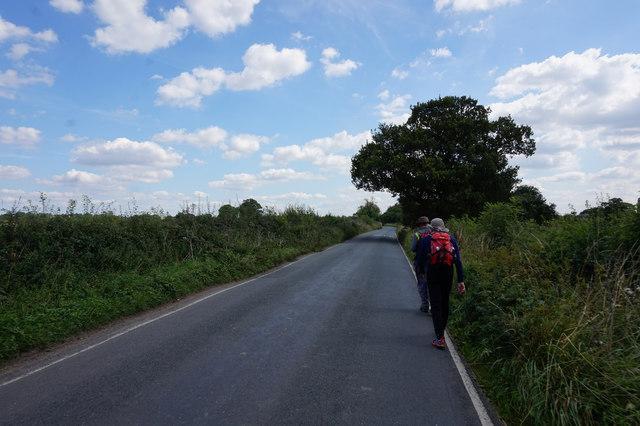 Moor Lane towards  Murton