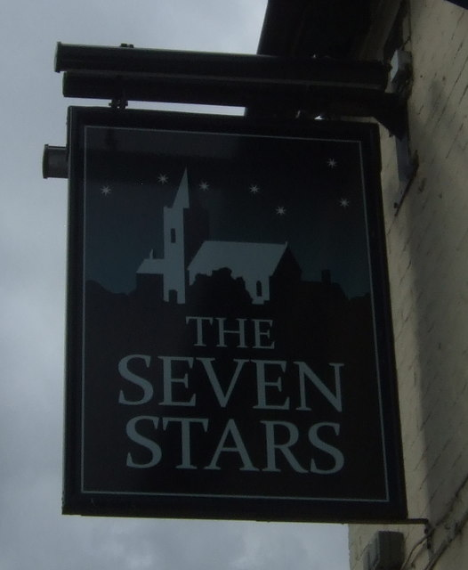Sign for the Seven Stars, March