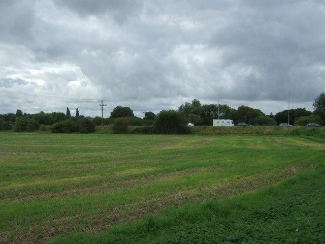 Farmland towards the A141