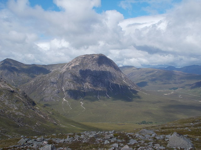 Buachaille Etive Mor from Creag Dhubh