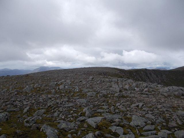 Creise summit ridge
