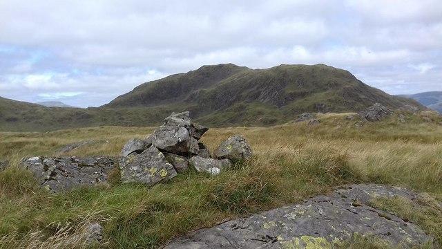 Cairn on Bennan Hill