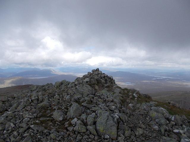 Summit of Stob a' Ghlais Choire