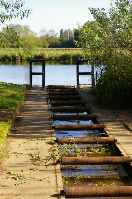 The punt rollerway at Parson's Pleasure