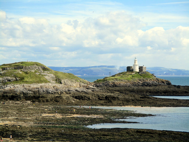 Mumbles Lighthouse (on Mumbles Head)