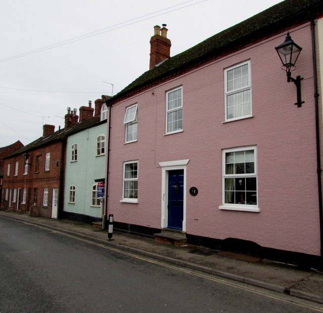 Pink house in Newent