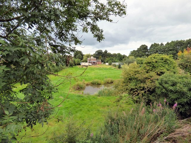 Cresswellford Farm and pond
