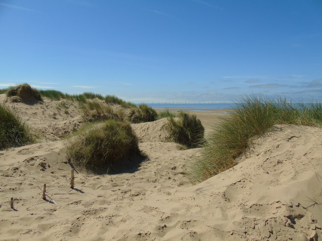 At Formby Point