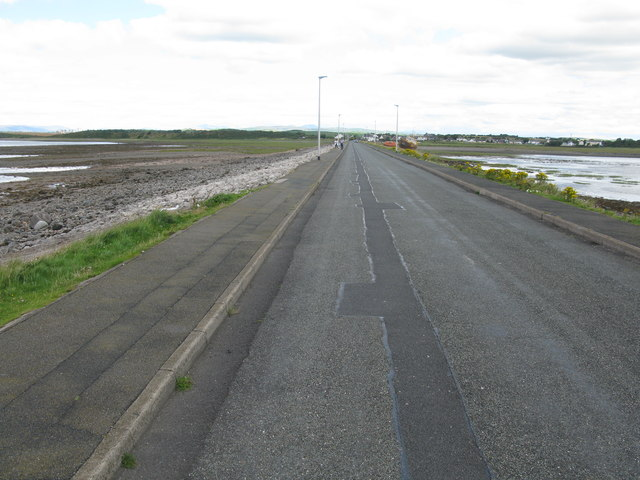 Causeway linking Roa Island to the Mainland