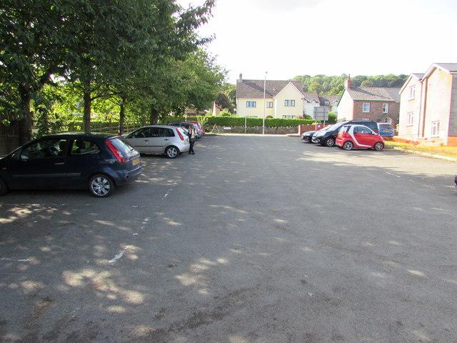 Main Road car park, Gilwern
