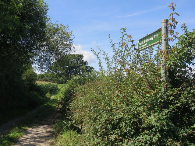 Public Bridleway B19 to Great Upton, Isle of Wight