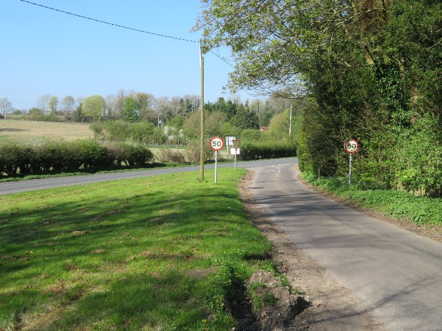 Joining the Andover Road (B3400)