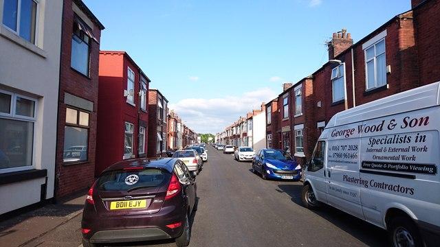 New Barton Street, Irlam o'th' Heights