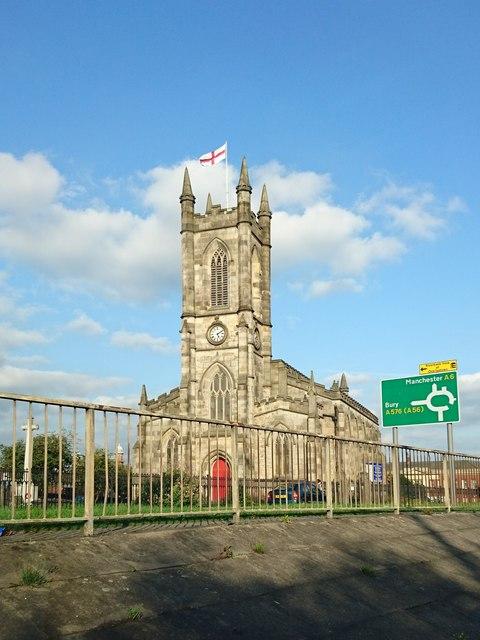 Church of St Thomas, Pendleton