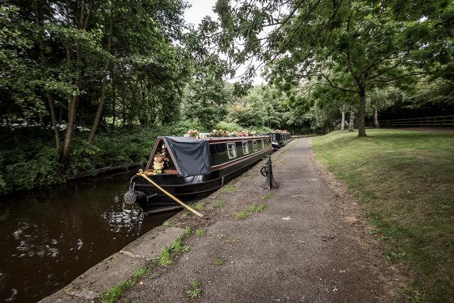 Canal Boats, Llangollen Canal