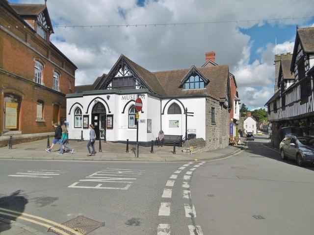 Much Wenlock, hall & museum