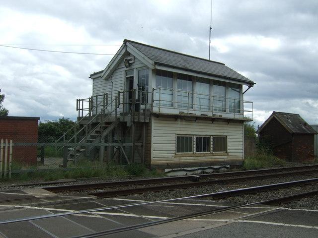 Signal box, Manea Railway Station