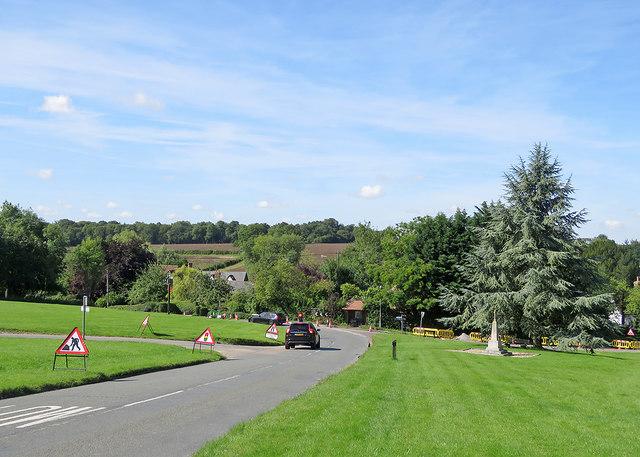 Withersfield: roadworks