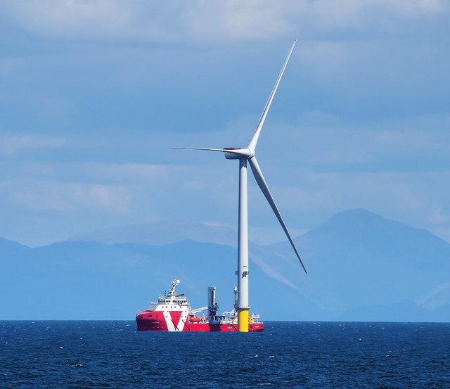 Turbine, Walney Offshore Windfarm