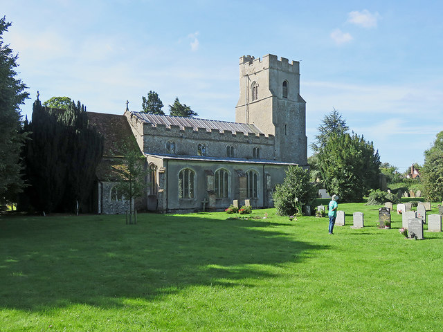Withersfield church and churchyard